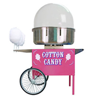 cotton machine sugar mixture