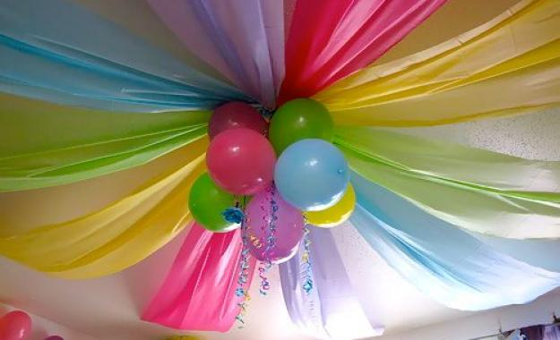 Balloon Ceiling Treatment