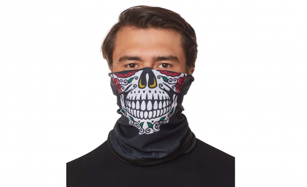 COVID ready halloween mask