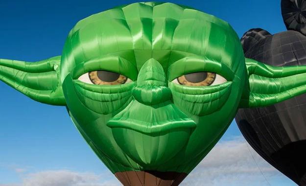 Master Yoda Hot Air Balloon