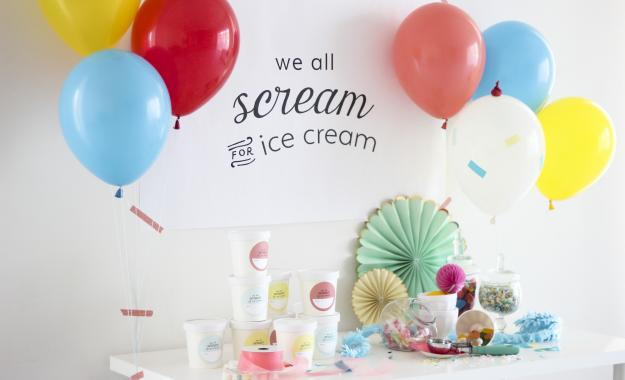 Balloon Time FREE Ice Cream Party Supplies