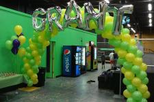 Grant's Bar Mitzvah Balloon Arch