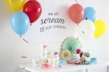 Balloon Time FREE Ice Cream Party Supplies