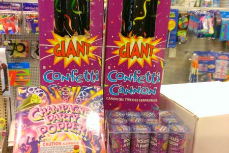 All Diffe Kinds Of Confetti Poppers Cannons