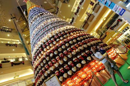 Extreme Christmas Trees - Toy Tree - in Jakarta